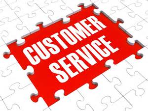 Customer service puzzle image