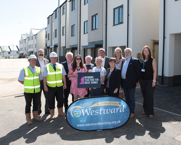 Partnership working creates affordable homes in Paignton