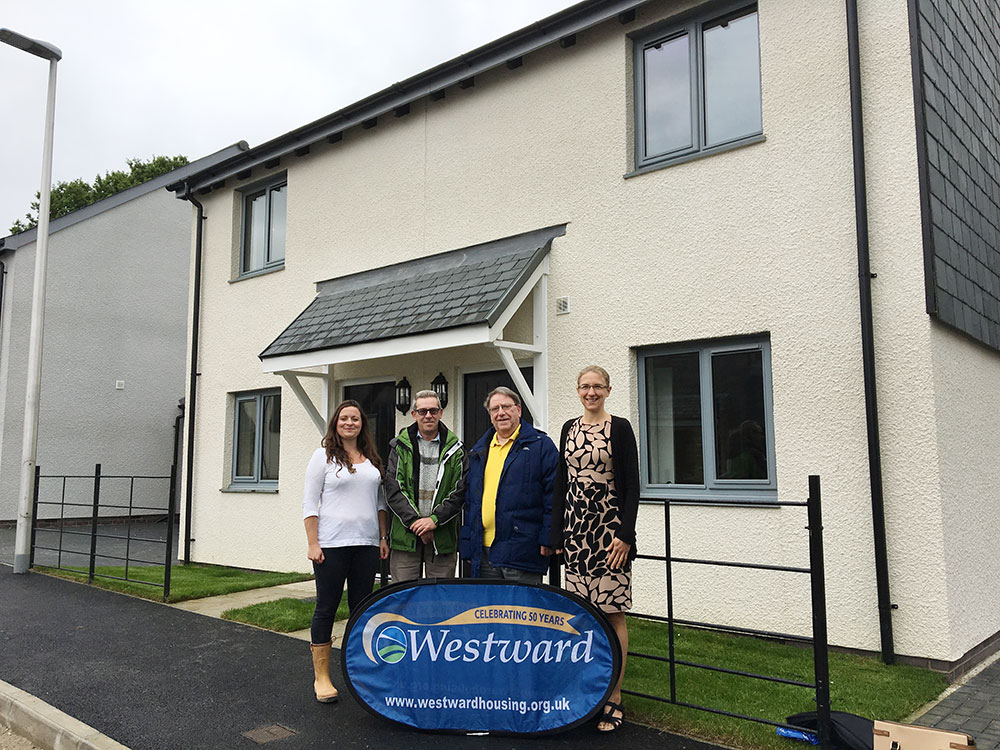 First affordable homes handed over at Palstone Meadow