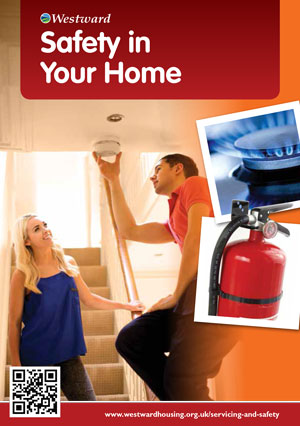 Safety in your home leaflet cover