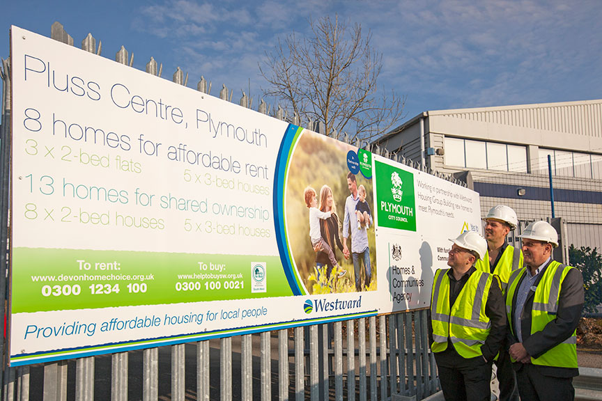 Second phase of building starts at 100% affordable homes site in Southway