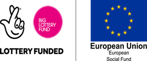 Big lottery fund and Europen Union social fund logo