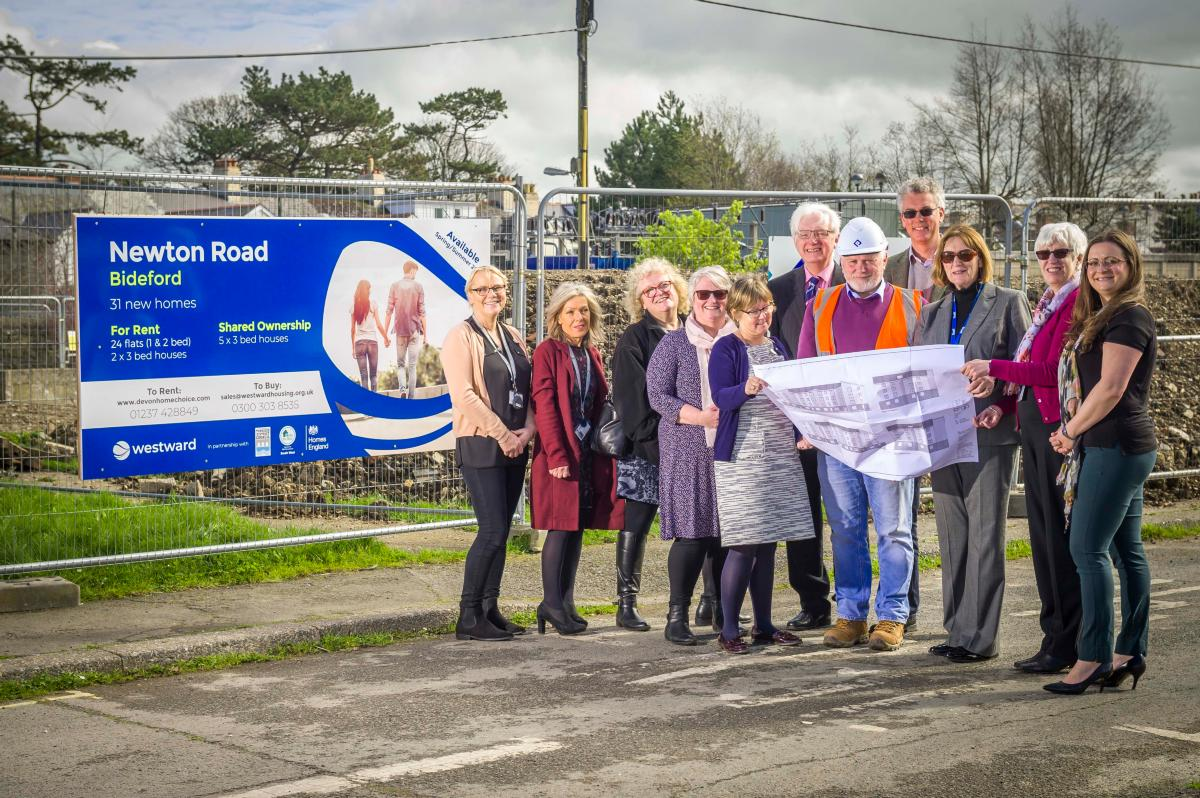 Westward provides affordable homes in central Bideford